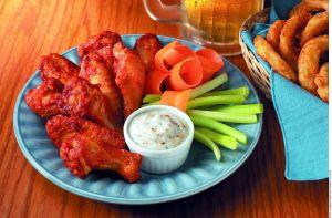 ¡La botana favorita! Irresistibles alitas de pollo picantes