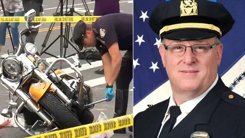 Murió jefe policial en horrible choque con camión de basura El Bronx