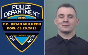 El conmovedor video del oficial del NYPD a poco tiempo de morir