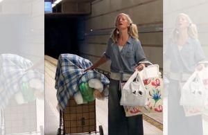 VIDEO: Mujer que parece 'sin casa' sorprende con su magnífica voz en Metro de Los Ángeles