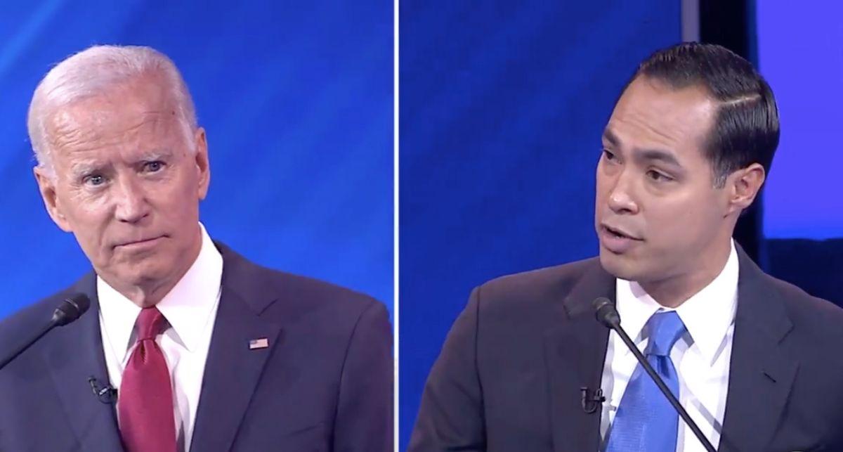 Julián Castro insinúa que a Joe Biden se le olvidan las cosas