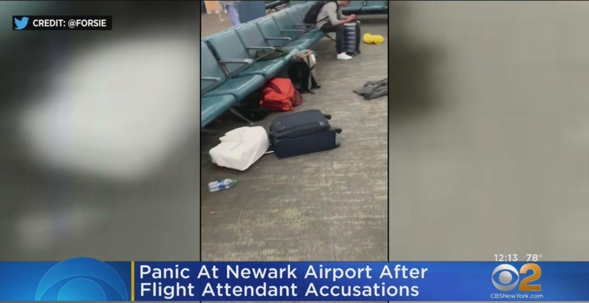 Azafata bipolar causó pánico gritando en aeropuerto Newark de Nueva York