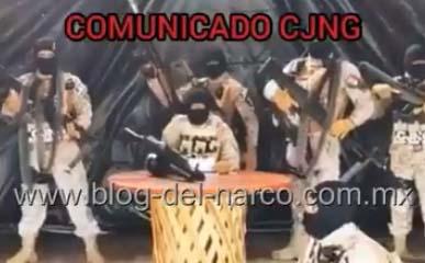 """El CJNG de """"El Mencho"""" dice que la guerra en Michoacán termina con la captura de """"El Abuelo"""" Farías"""