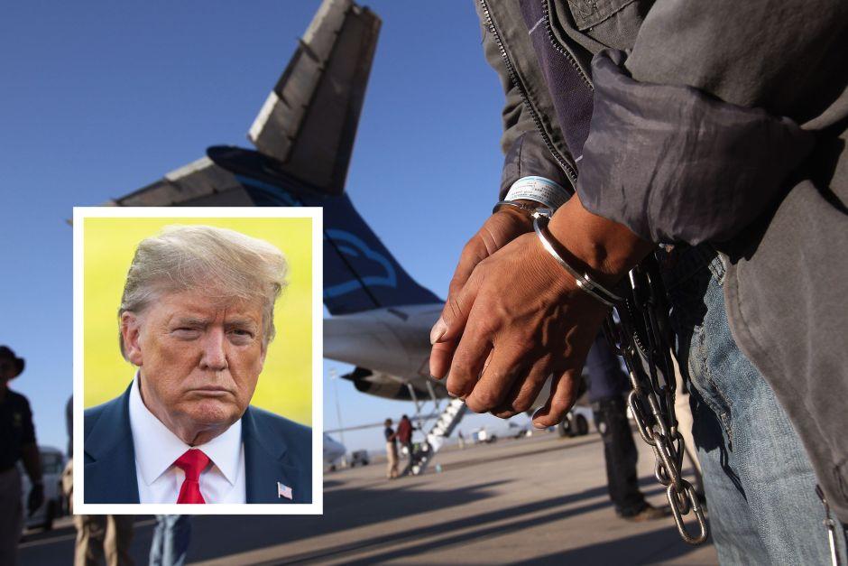 Trump prepara duro derechazo para inmigrantes que enfrentan deportación