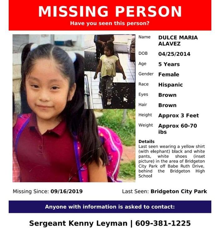 Miedo a ICE podría estar limitando que inmigrantes den pistas sobre niña desaparecida en Nueva Jersey