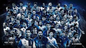 Todos los nominados. FIFA busca su 11 ideal del año entre 55 futbolistas