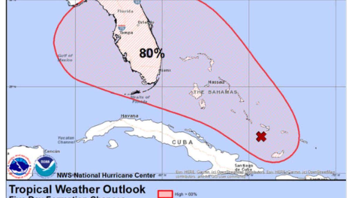 Una nueva tormenta castiga las Bahamas y podría convertirse en huracán de camino a Estados Unidos