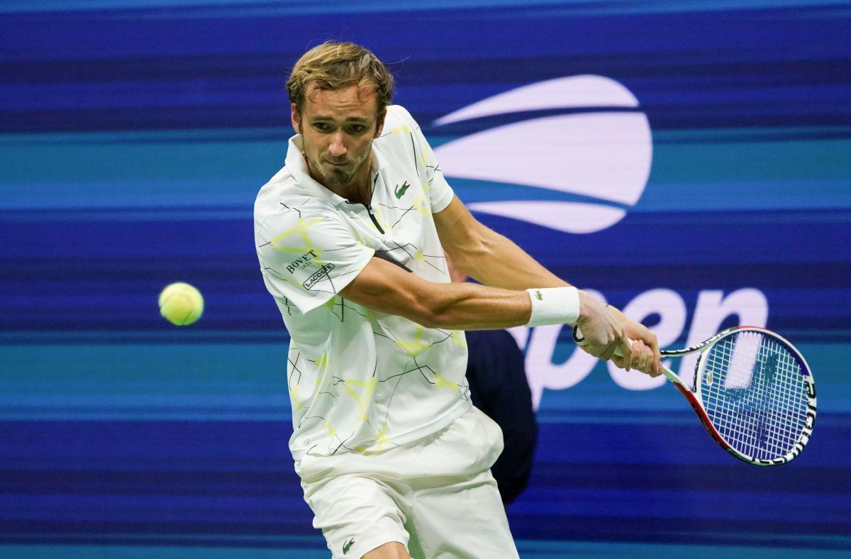 Medvedev despacha en sets corridos a Dimitrov y es finalista del US Open