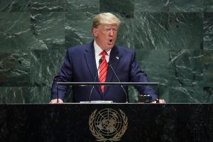 """Trump ante la ONU: """"Cualquiera que cruce la frontera ilegalmente... será devuelto a casa"""""""