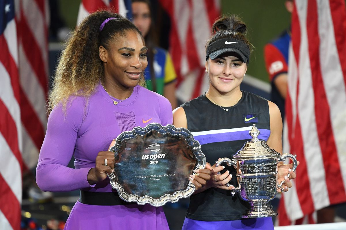Serena Williams vuelve a desmoronarse en la final del US Open