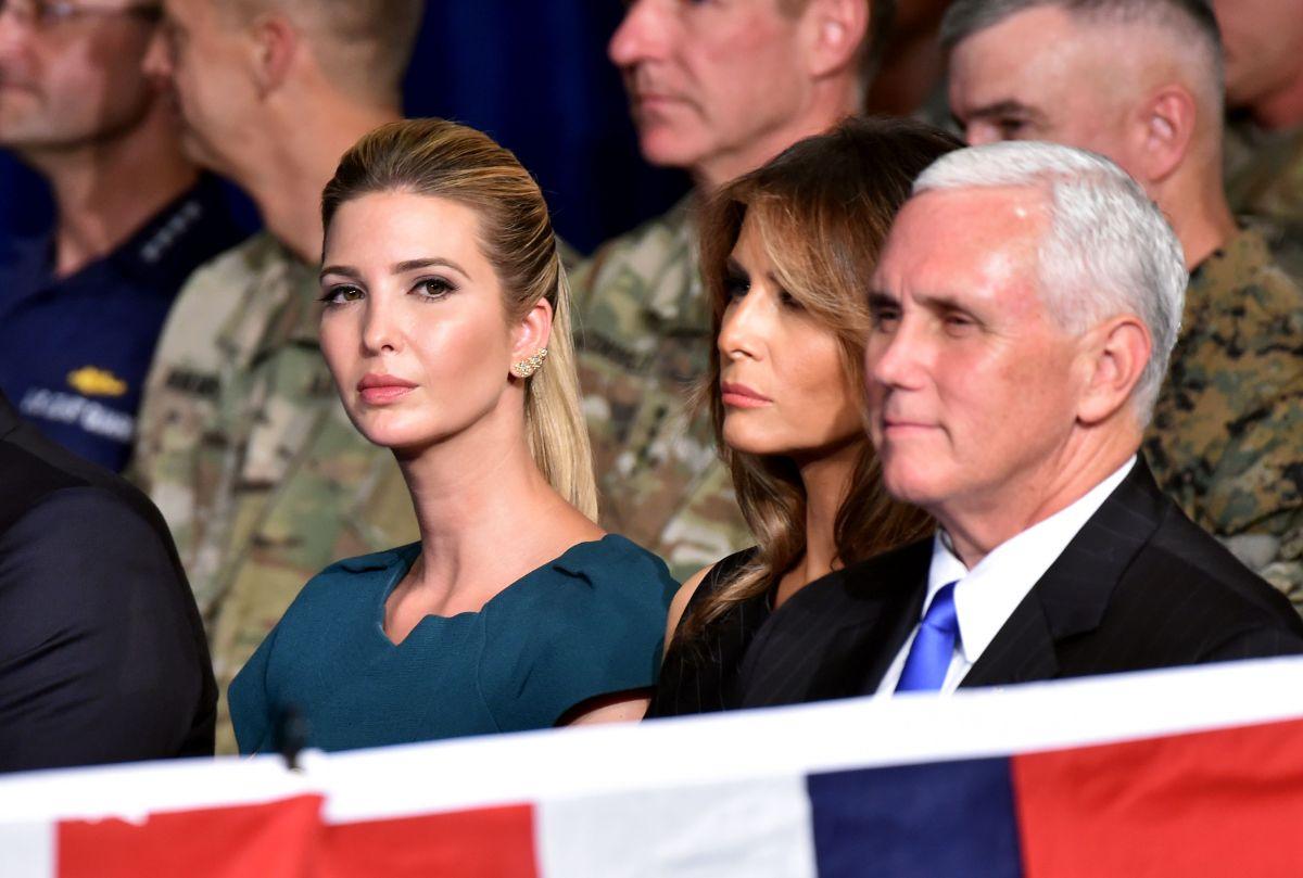 Ivanka Trump y su esposo quieren que el presidente abandone a Mike Pence
