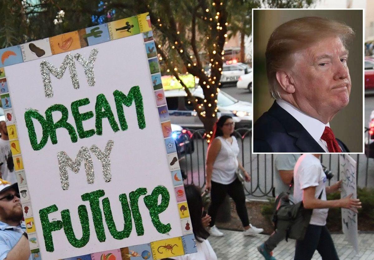 """Los """"dreamers"""" buscan la revancha contra Trump"""