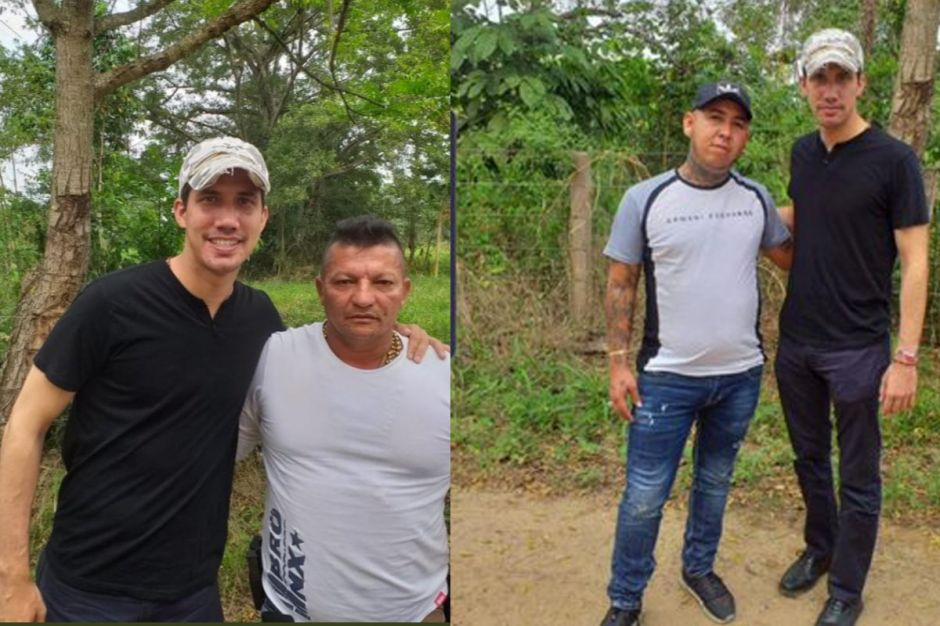 "Revelan fotos de Juan Guaidó junto a banda narcoparamilitar ""Los Rastrojos"""