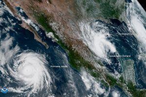 El huracán Juliette en aguas del Pacífico afectará levemente a California esta semana