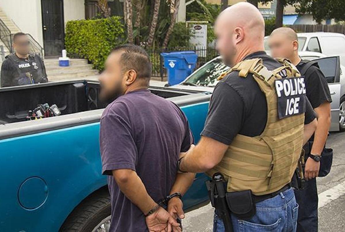 ICE capturó a 1,300 inmigrantes en varias redadas