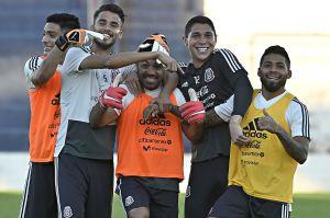 ¡Y sin clembuterol! Diego Reyes, Raúl Jiménez y Hugo González pidieron un filete bañado en oro
