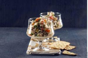 ¡Viva la gastronomía Latinoamericana! Irresistible ceviche de pescado