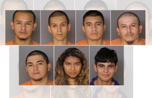 Acusan a 7 miembros de MS-13 de apuñalar varias veces al mismo tiempo a joven de 21 años