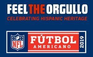 'Feel the Orgullo': así celebra la NFL el Mes de la Herencia Hispana