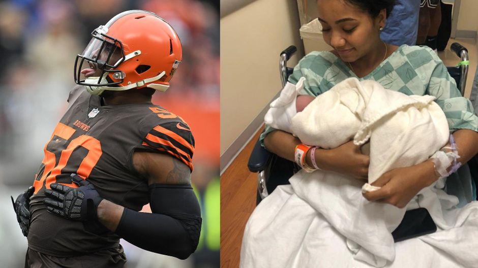 Muere novia de jugador de la NFL en trágico accidente y deja bebé recién nacido