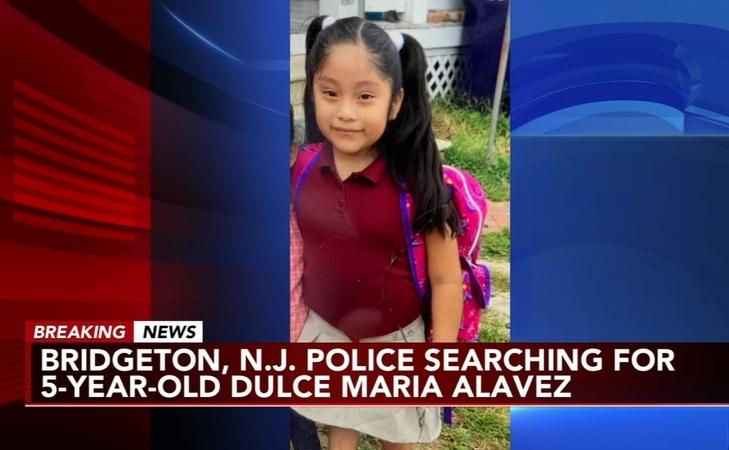 Niña hispana desaparecida fue vista subiendo a un carro rojo con un hombre en Nueva Jersey