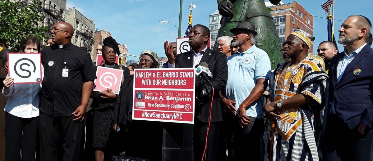 Diez centros religiosos en Harlem se unen a red de 'santuarios' contra 'La Migra'