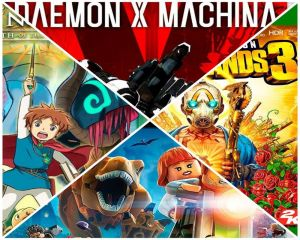 Reseña Videojuegos: Daemon X Machina, Borderlands 3, Ni no Kuni: Wrath of the White Witch Remastered y LEGO Jurassic World