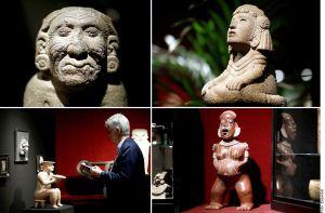 Subastan en Francia piezas prehispánicas mexicanas, gobierno de AMLO denuncia