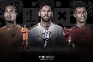 Otra vez: Messi vs Ronaldo en las nominaciones de los premios The Best
