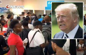 """Trump defiende negar entrada a EEUU a víctimas de huracán Dorian en Bahamas: """"Podría haber gente muy mala"""""""