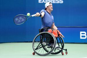 """""""Gusti"""" Fernández no pudo alcanzar el sueño de ganar el Grand Slam con el US Open"""