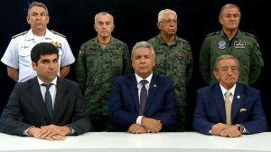 Crisis en Ecuador: Lenín Moreno acusa a Rafael Correa y a Nicolás Maduro por crecientes protestas en el país