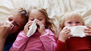 Por qué los niños parecen estar constantemente con la nariz llena de mocos