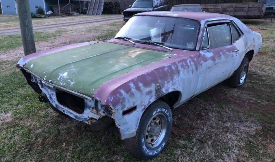 Ponen a la venta un Chevy Nova sin motor en Carolina del Norte: ¿Qué hace a este auto tan especial?