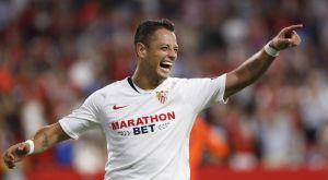 La sonrisa de la Europa League: 'Chicharito' le da el triunfo al Sevilla