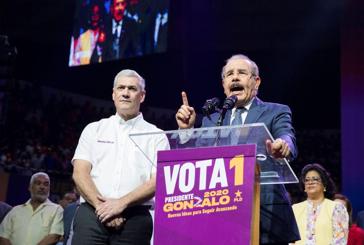 Danilo Medina votará por Gonzalo Castillo en las primarias del PLD en Dominicana