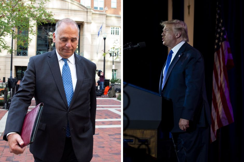 Foto revela relación entre Trump y socio de Giuliani arrestado por financiación ilegal a republicanos