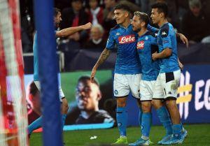 'Chucky' fue titular en la victoria del Napoli al Salzburg
