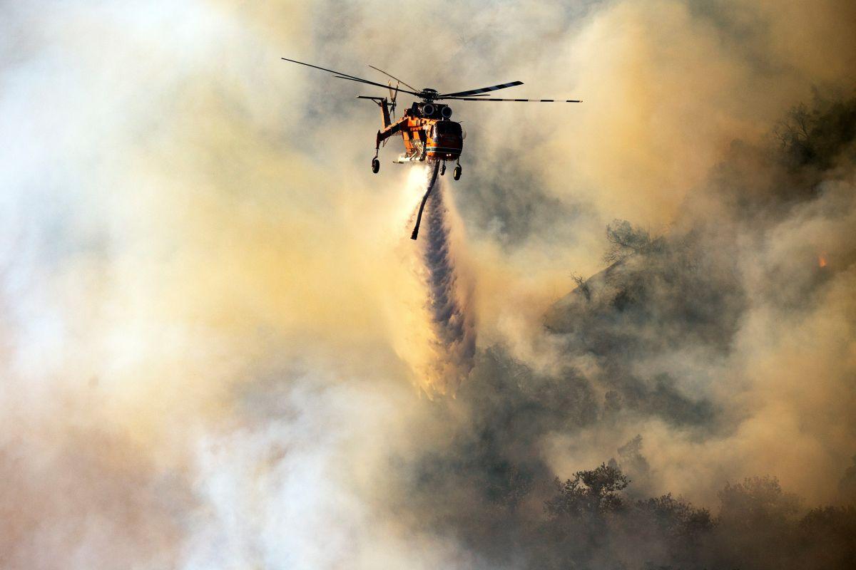 Las zonas de evacuación y refugios disponibles por incendio Getty en Los Ángeles