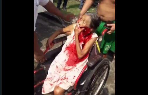 Nieto ataca a sus abuelos a machetazos
