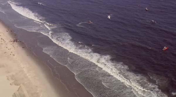 Tres adolescentes desaparecen en las aguas de Rockaway Beach, Queens