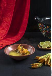 ¡Aprende a preparar Sopa Milpa! Extraordinario contenido en fibra, ideal para diabéticos