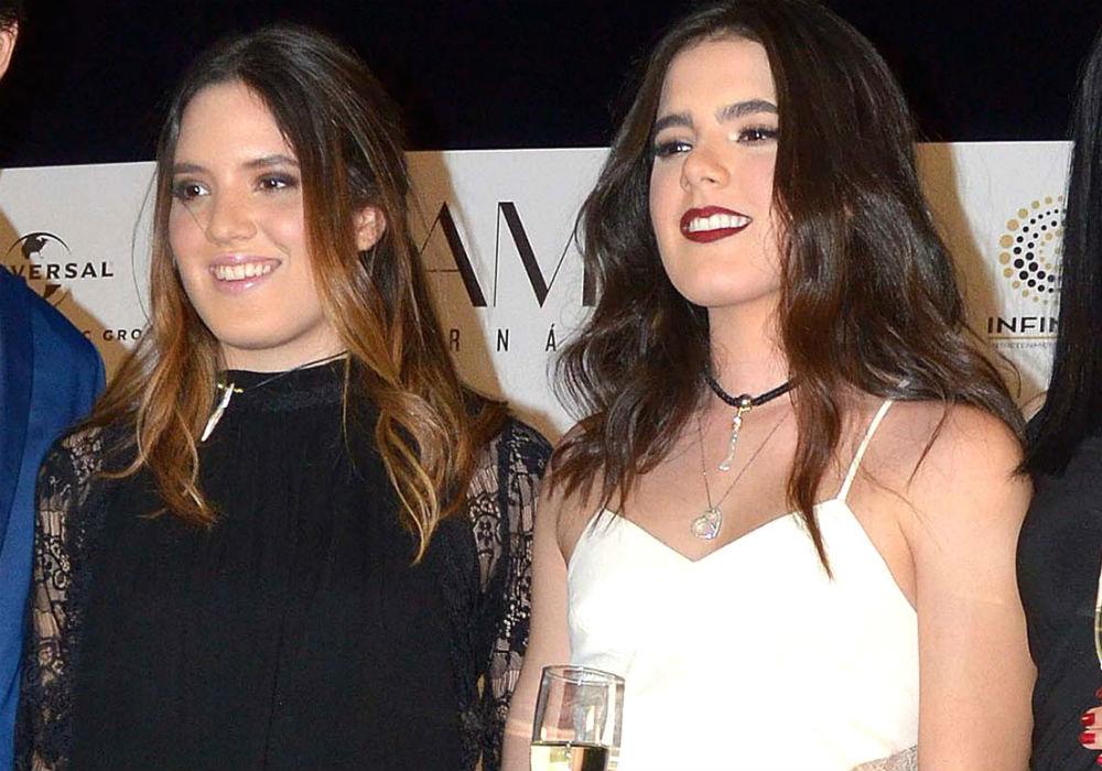 América y Camila, las bellas hijas gemelas de Alejandro Fernández