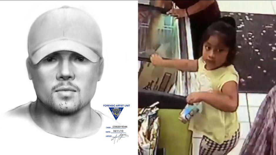 Revelan boceto de sospechoso en caso de niña Dulce María, a un mes de su desaparición en Jersey