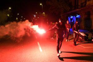 La noche más triste de Barcelona, libran una horrible batalla que está destruyendo la ciudad