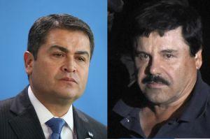 """Testigo asegura que """"El Chapo"""" Guzmán  puso sobre la mesa y pagó $1 millón para campaña del presidente de Honduras"""