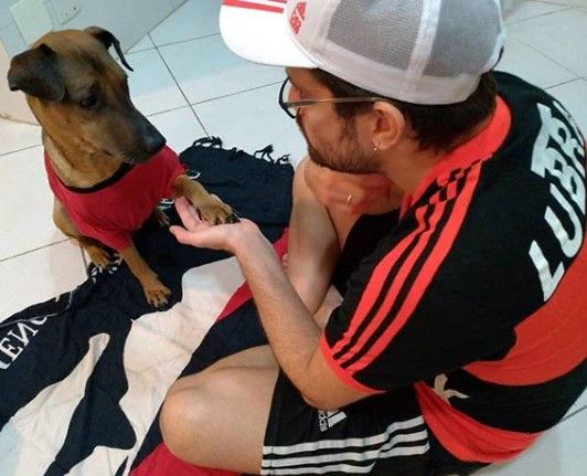 Fan de Flamengo rifa boleto de Libertadores para pagar quimioterapia de su perro