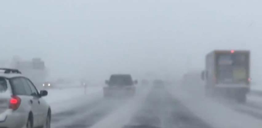 La ciudad de EEUU en donde van más de 55 horas de caída de nieve ininterrumpida