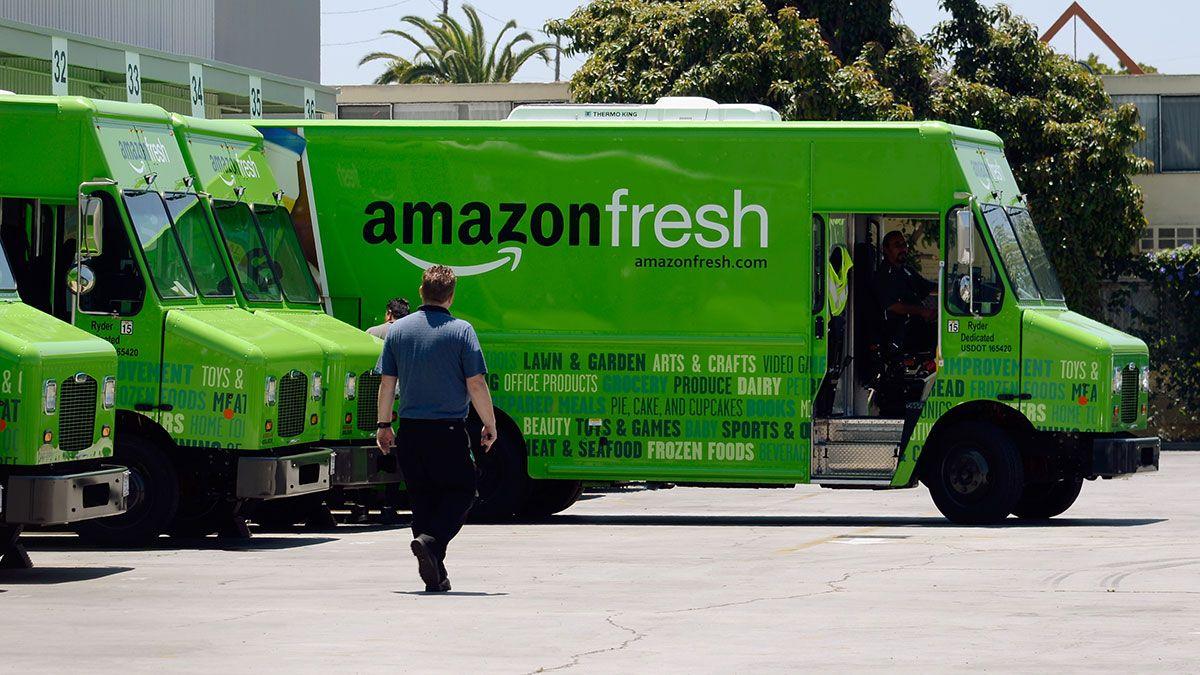 Amazon entregará comestibles a domicilio GRATIS