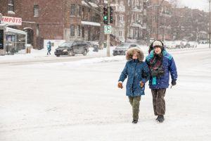 Súper frío: Las temperaturas podrían caer 50 grados en 24 horas antes de la nevada
